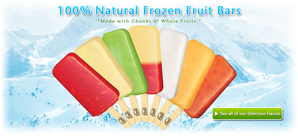 Fruti frozen fruit bars