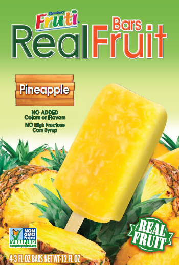 Fruti - Pineapple Retail 4pk